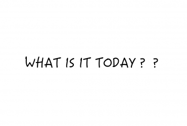 今日は何の日!?